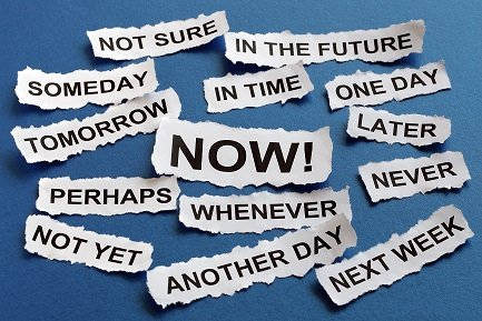 Use the 3D approach to overcome procrastination