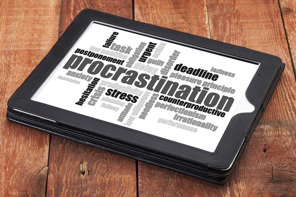 Overcome procrastination by managing your technology